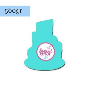 Fondant Turquesa 500 gr Sweet Kolor