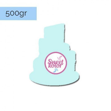 Fondant Azul cielo 500 gr Sweet Kolor