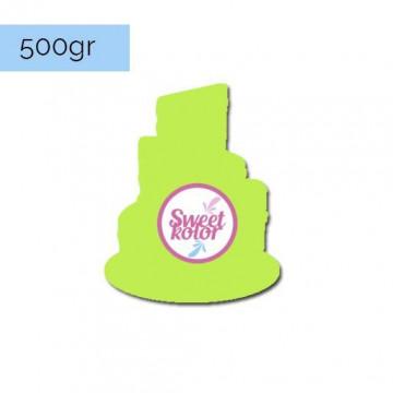 Fondant Verde pistacho 500 gr Sweet Kolor