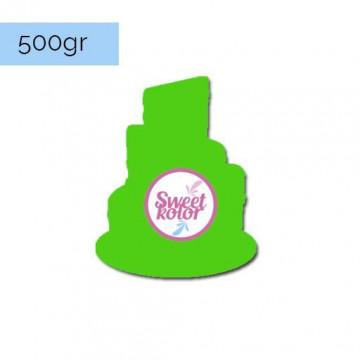Fondant Verde 500 gr Sweet Kolor