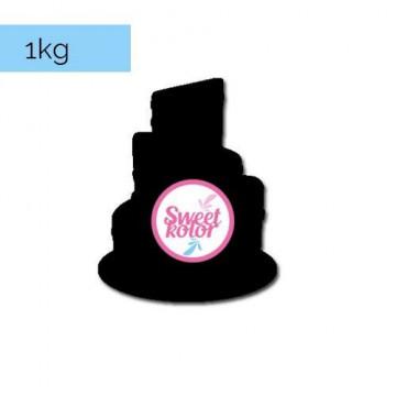 Fondant Negro 1kg Sweet Kolor