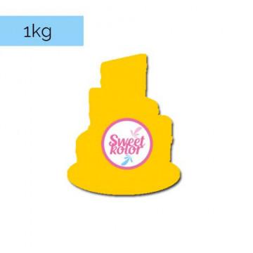 Fondant Amarillo Huevo 1kg Sweet Kolor