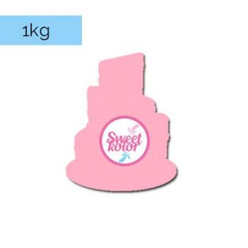Fondant Rosa 1kg Sweet Kolor