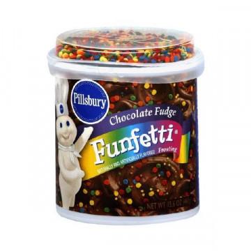 Frosting Confetti Funfetti Chocolate Fudge Pillsbury