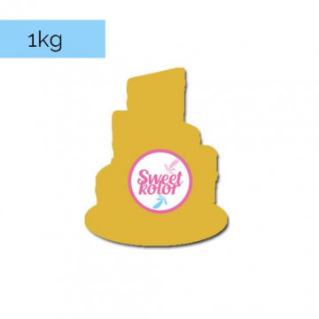 Fondant Marrón Café 1kg Sweet Kolor