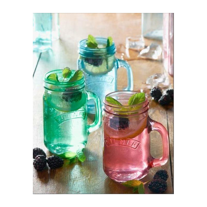 Jarra de cristal con asa transparente Kilner [CLONE] [CLONE]