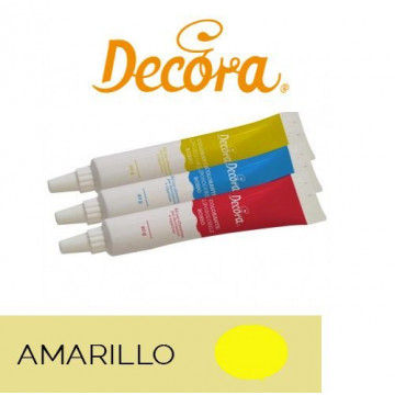 Colorante para chocolate liposoluble Amarillo Decora