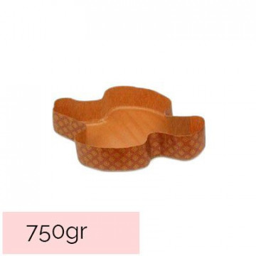 Pack 5 moldes de Colomba de Pascua 750 gr Decora