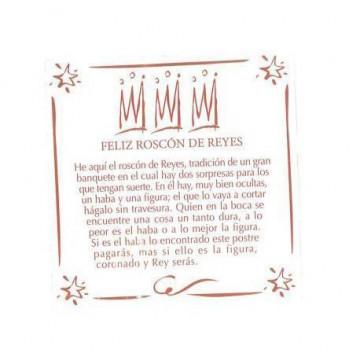 Haba seca para Roscón de Reyes [CLONE] [CLONE]