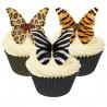 Mariposas de papel de azúcar animales salvajes Culpitt