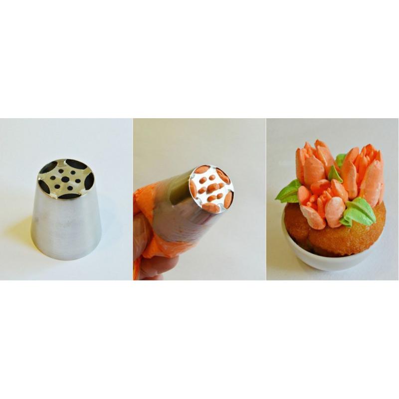 Boquilla Flor Tulipán 6 pétalos y centro nº1 [CLONE] [CLONE]