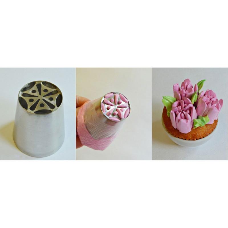 Boquilla Flor Tulipán 6 pétalos y centro nº1 [CLONE] [CLONE] [CLONE] [CLONE]