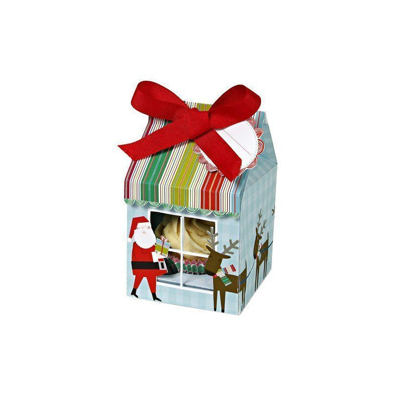 Pack de 3 cajas para 4 cupcakes Papa Noel Meri Meri [CLONE]