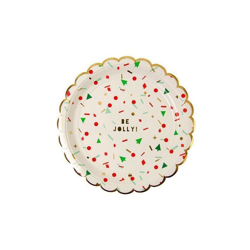 Plato de fiesta Reno y arboles Meri Meri [CLONE]