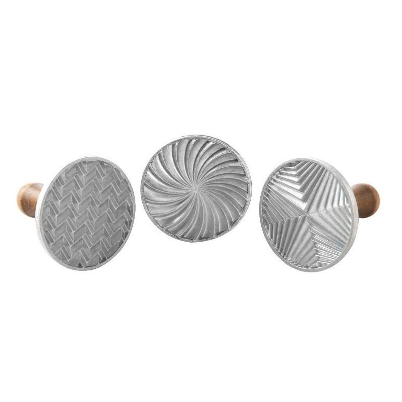 Sello/Estampación de galletas Geo Patterns Cookie Nordic Ware