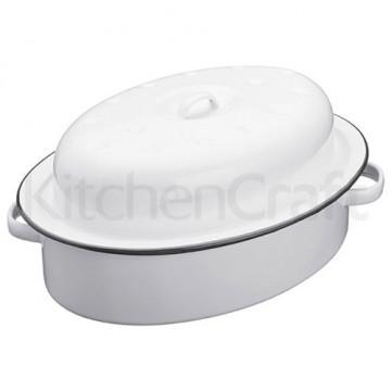 Olla tartera con tapa esmaltada Kitchen Craft