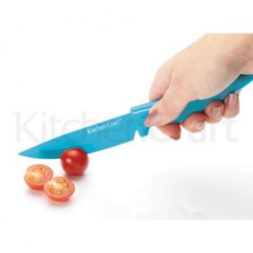 Cuchillo para mondar turquesa Kitchen Craft