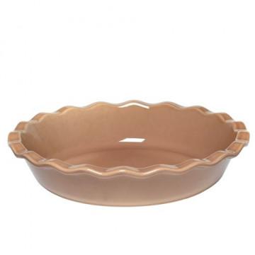 Molde redondo de cerámica Beig Tostado Emile Henry