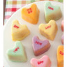 Platinum Mini Heart Baking Pan Nordic Ware
