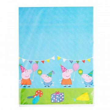 Mantel de plástico para fiesta Peppa Pig