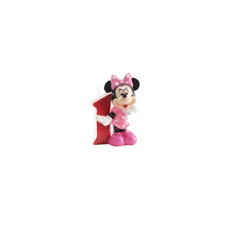 Vela nº 1 Minnie Mouse Dekora