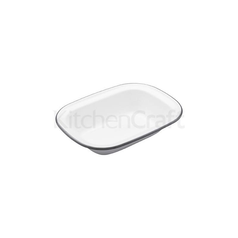 Fuente rectangular esmaltada 22 cm Kitchen Craft [CLONE] [CLONE]