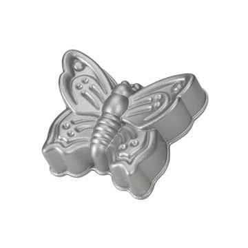 Platinum Butterfly Cake Pan Nordic Ware