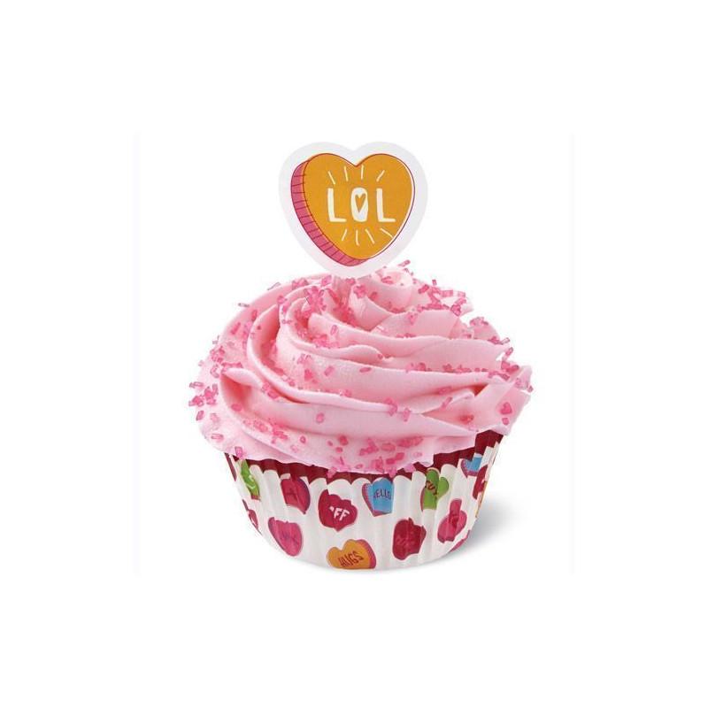 Set para cupcakes: Words Can Express Wilton