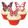 Mariposas de papel de azúcar animales salvajes Culpitt [CLONE] [CLONE] [CLONE]