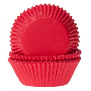 Cápsulas mini cupcakes Rojo Red Velvet House of Marie