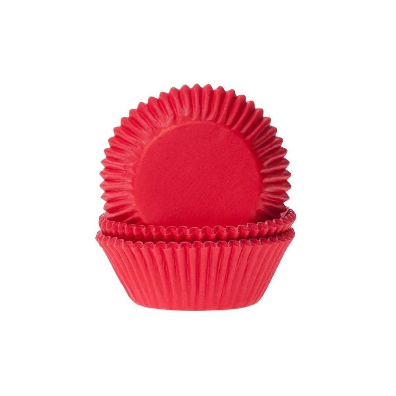 Cápsulas mini cupcakes Rojo Red Velvet House of Marie