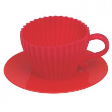 Pack 2 Tazas de silicona para hornear Rosa [CLONE]