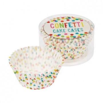 Capsulas cupcakes Confetti