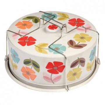 Portatartas de lata Flores [CLONE] [CLONE]
