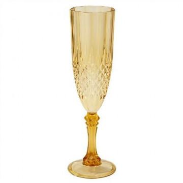 Copa de plástico Dorado