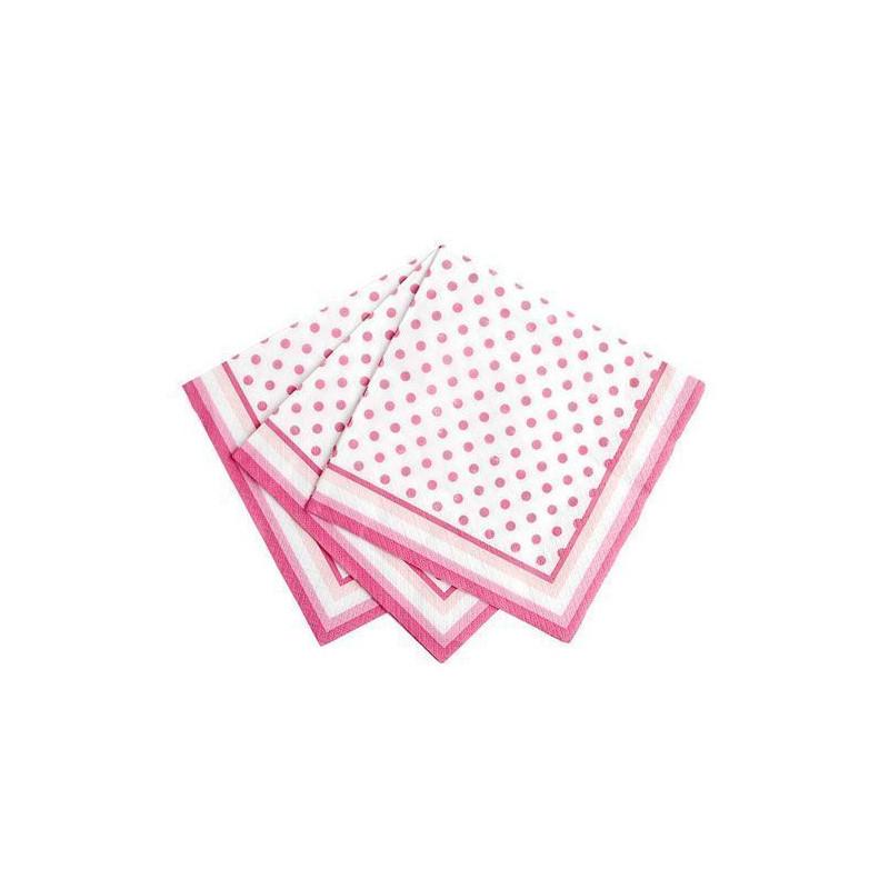 Servilleta de papel Lunares Rosas [CLONE]