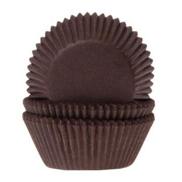 Capsulas cupcakes Marrón HoM