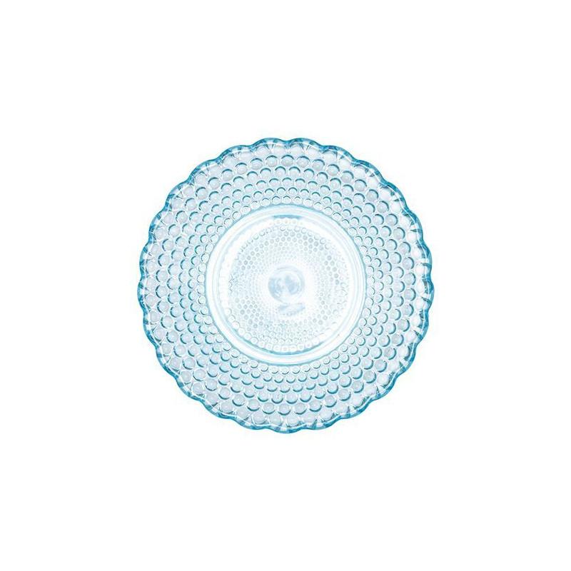 Plato de cristal translucido Abelone Pink Green Gate [CLONE]