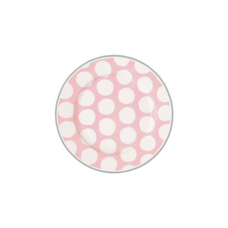 Plato de cerámica Abelone White Green Gate [CLONE] [CLONE] [CLONE]