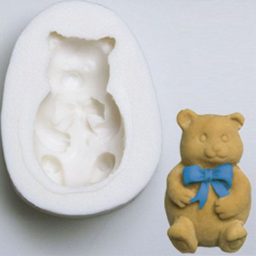 Molde silicona Osito Teddy Bear