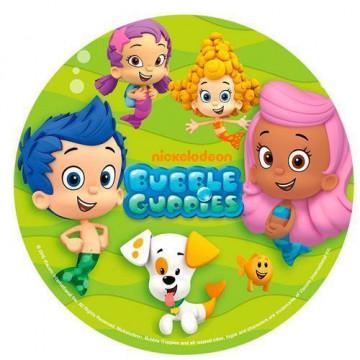 Oblea para tarta Bubble Guppies 1