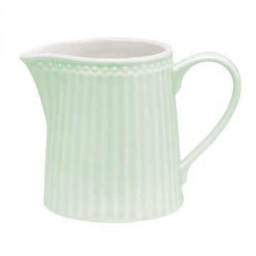 Lechera cerámica Alice Pale Green Green Gate