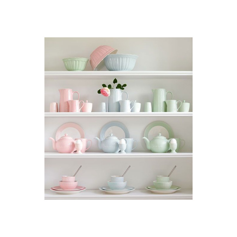 Plato de cerámica Alice Pale Pink Green Gate [CLONE]