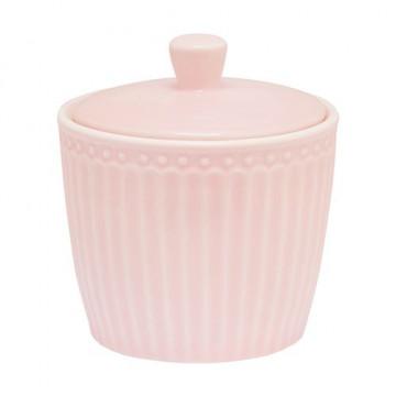 Azucarero de cerámica Alice pale pink Green Gate