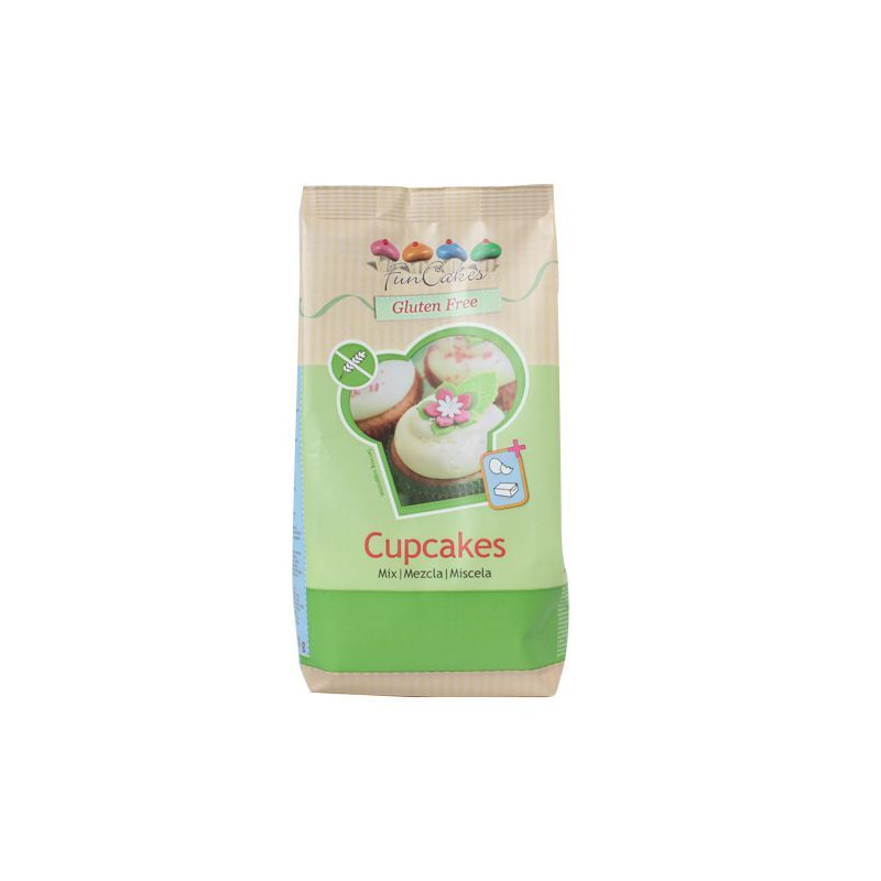 Preparado de bizcocho esponjoso SIN GLUTEN Funcakes [CLONE]
