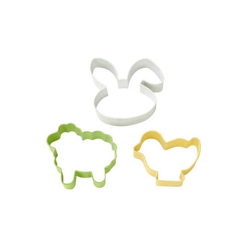 Pack 2 cortantes Pascua: Huevo y Pollito Wilton [CLONE] [CLONE] [CLONE]