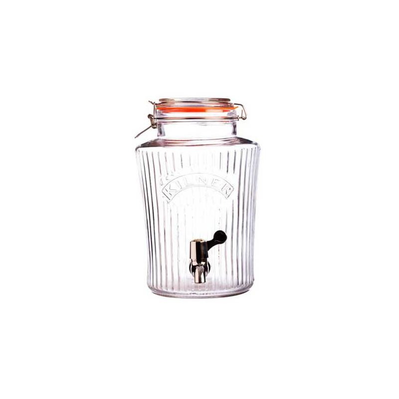Tarro de cristal con grifo 5 L Kilner [CLONE]