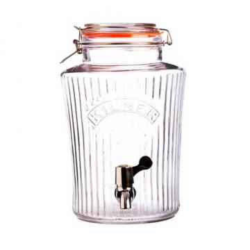 Tarro de cristal con grifo 5 L Kilner [CLONE] [CLONE]