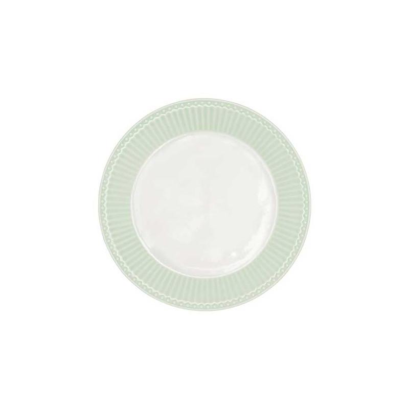 Plato de cerámica de postre Alice Pale Pink Green Gate [CLONE] [CLONE]