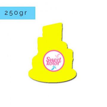 Fondant Amarillo limón 250gr Sweet Kolor